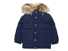 Ver de Terre down jacket navy